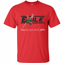 Exile Red Christmas Tee
