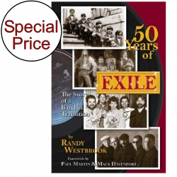 Exile Hardback Book- 50 Years of Exile