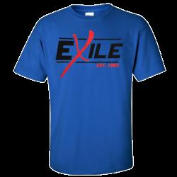 Exile Royal Blue Est. 1963 Tee