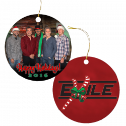 Exile 2016 Christmas Ornament