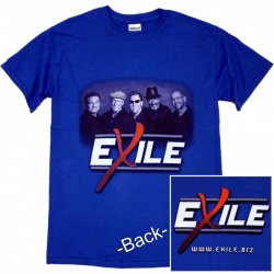 Exile Royal Blue Photo Tee