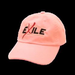 Exile Pink Ballcap- Black Logo